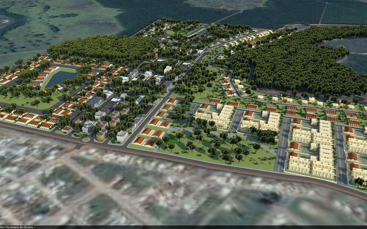 Estudo para empreendimento imobiliário cidade de Cristalina-GO Fluxo: SketchUp V-Ray SU 2.0