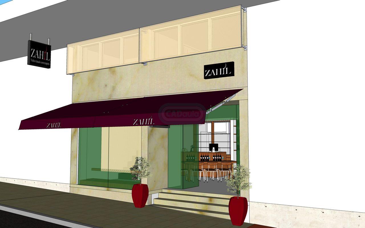 Projeto de arquitetura foto de loja Zahil Brasília